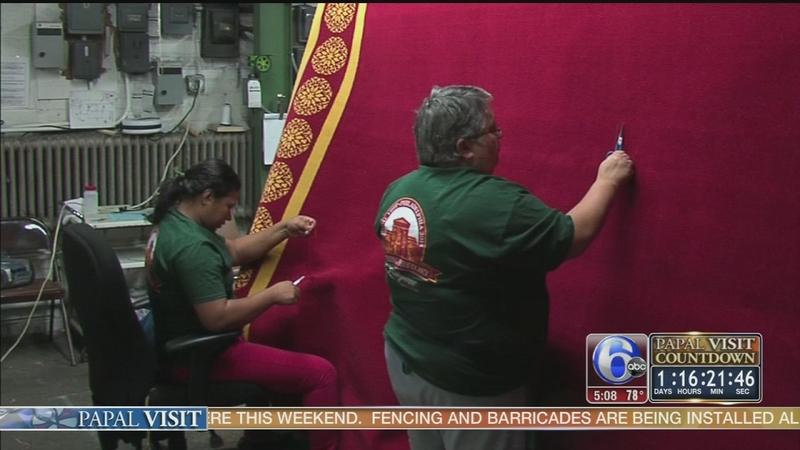 Bucks County company creates red carpet
