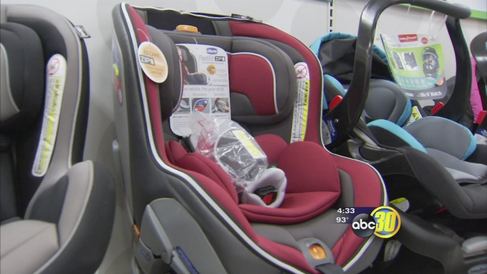 New California State Law For Car Seats