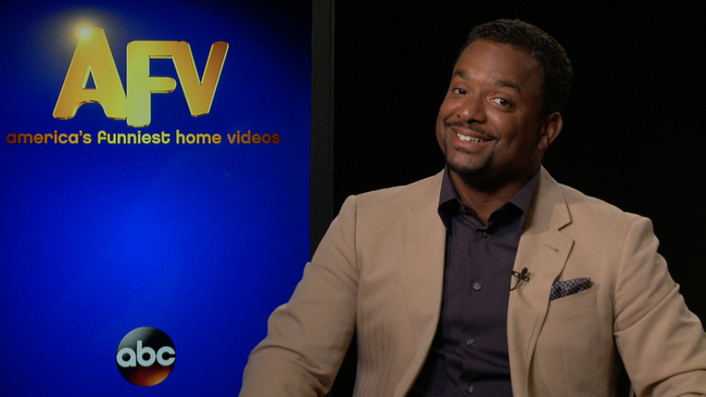 alfonso ribeiro talks on what he thinks makes a hilarious afv