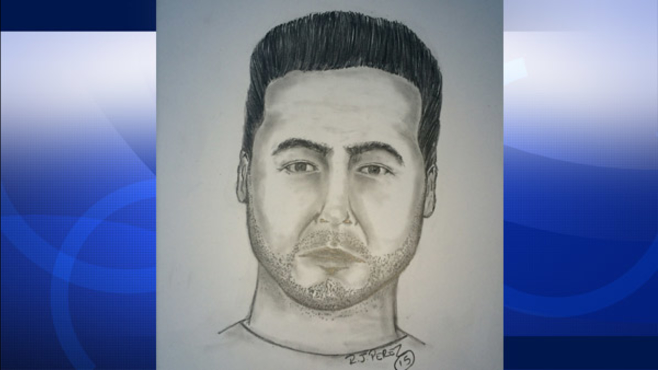 The sketch of a man accused of assaulting multiple underage girls in Oxnard.