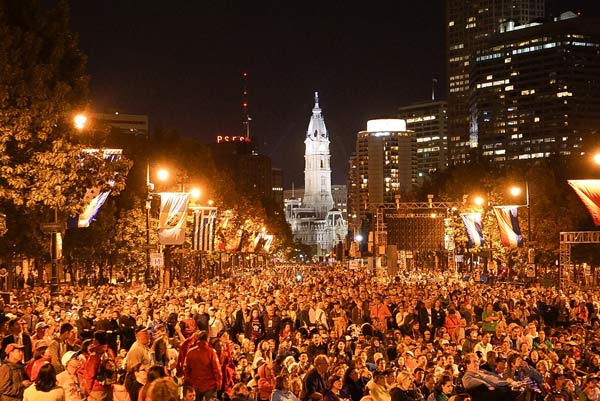 <div class='meta'><div class='origin-logo' data-origin='none'></div><span class='caption-text' data-credit=''>The Benjamin Franklin Parkway in Philadelphia during the Festival of Families on September 26, 2015. Courtesy: Kory Aversa</span></div>