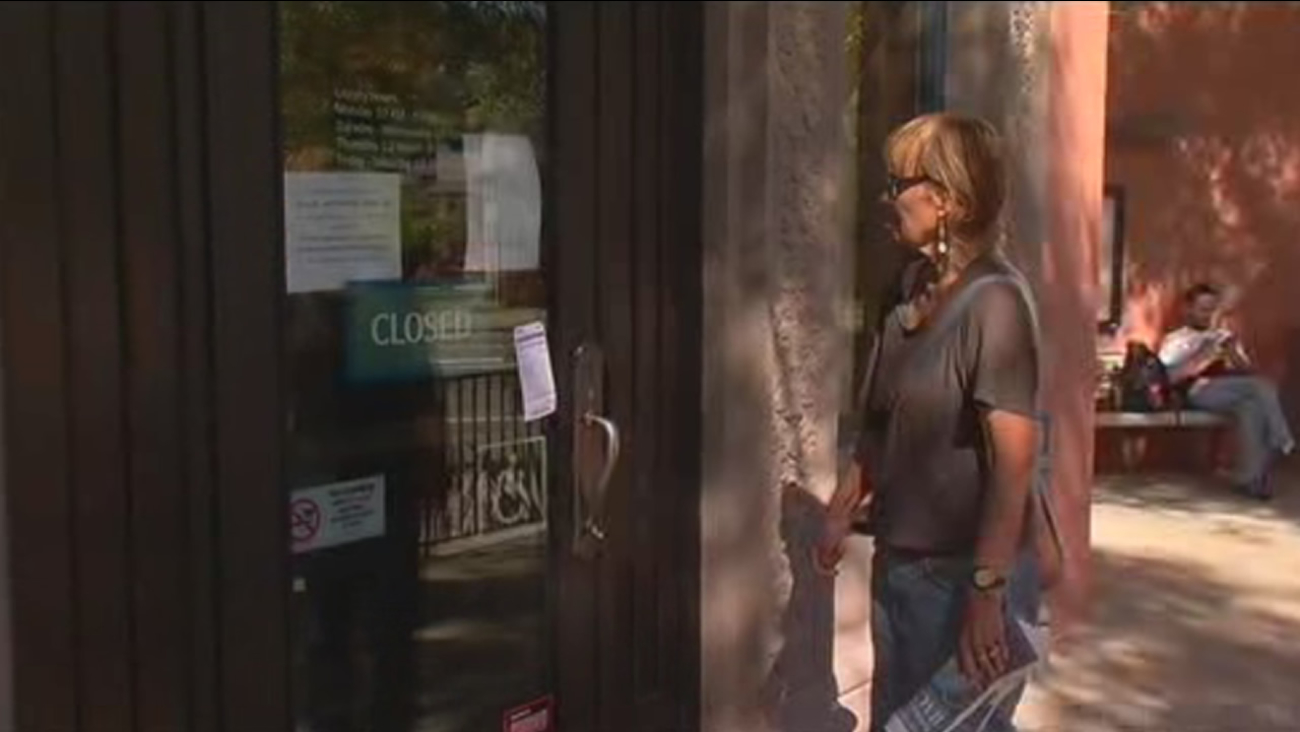 The North Branch library in Berkeley, Calif. is closed on Saturday, September 26, 2015, due to a bedbug infestation.