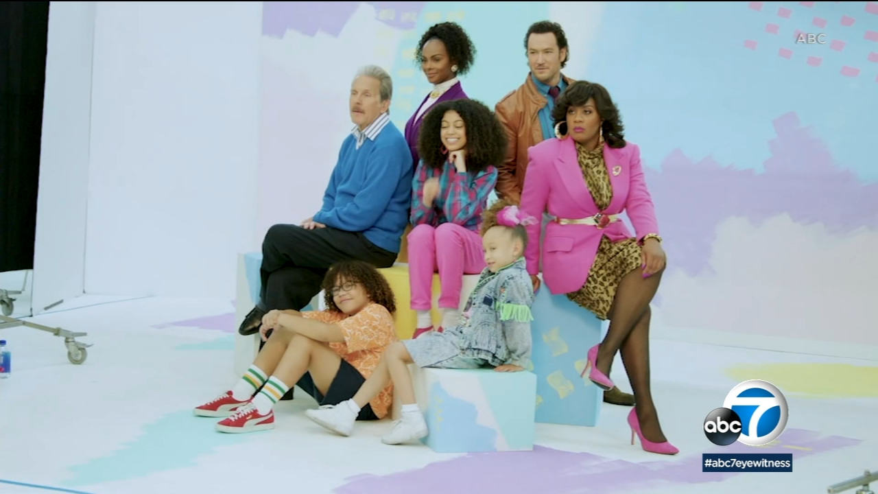 ABC's 'Mixed-ish' returns for season 2 with Mark-Paul Gosselaar, Tika Sumpter teaching their TV kids about family history, heritage