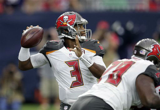 "<div class=""meta image-caption""><div class=""origin-logo origin-image none""><span>none</span></div><span class=""caption-text"">Tampa Bay's Jameis Winston (3) throws against Houston during the first half (AP Photo/ David J. Phillip)</span></div>"