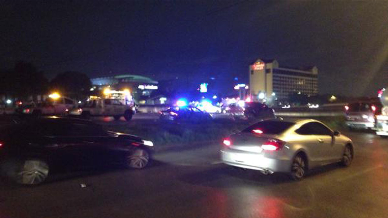 South Loop at South Main Accident