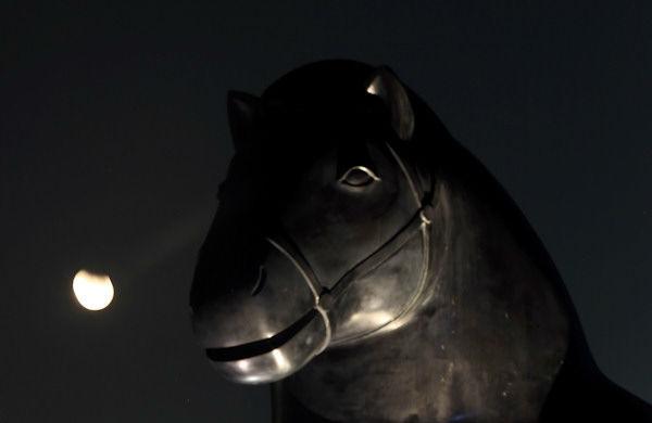 "<div class=""meta image-caption""><div class=""origin-logo origin-image none""><span>none</span></div><span class=""caption-text"">The supermoon is seen over  Dubai, United Arab Emirates, overnight on Sept. 27, the night of a lunar eclipse. (Photo/AP)</span></div>"
