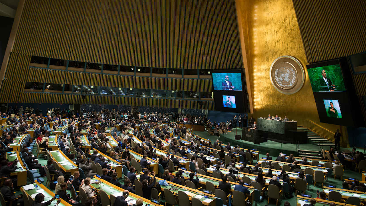 president obama united nations