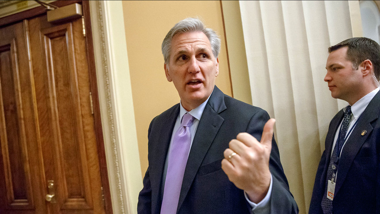 House Majority Leader Kevin McCarthy of Calif.