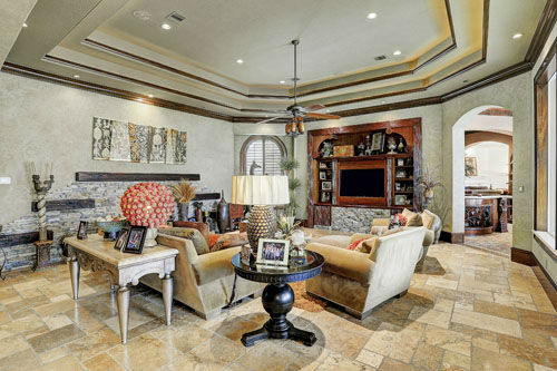"<div class=""meta image-caption""><div class=""origin-logo origin-image none""><span>none</span></div><span class=""caption-text"">This Mediterranean inspired mansion sits on two acres in the exclusive gated community of Shadow Creek. It's the largest house on the market in Spring. (PHOTOS/TK IMAGES)</span></div>"