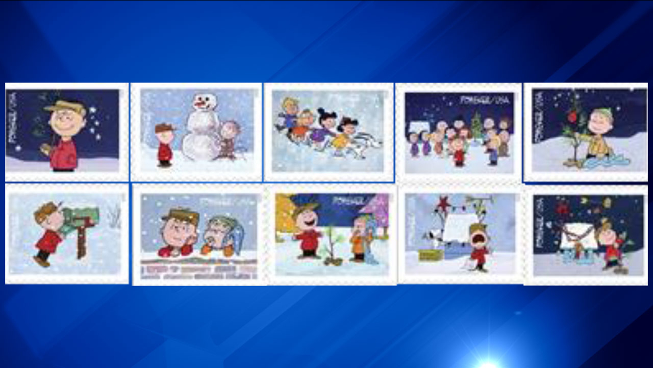 peanuts stamps