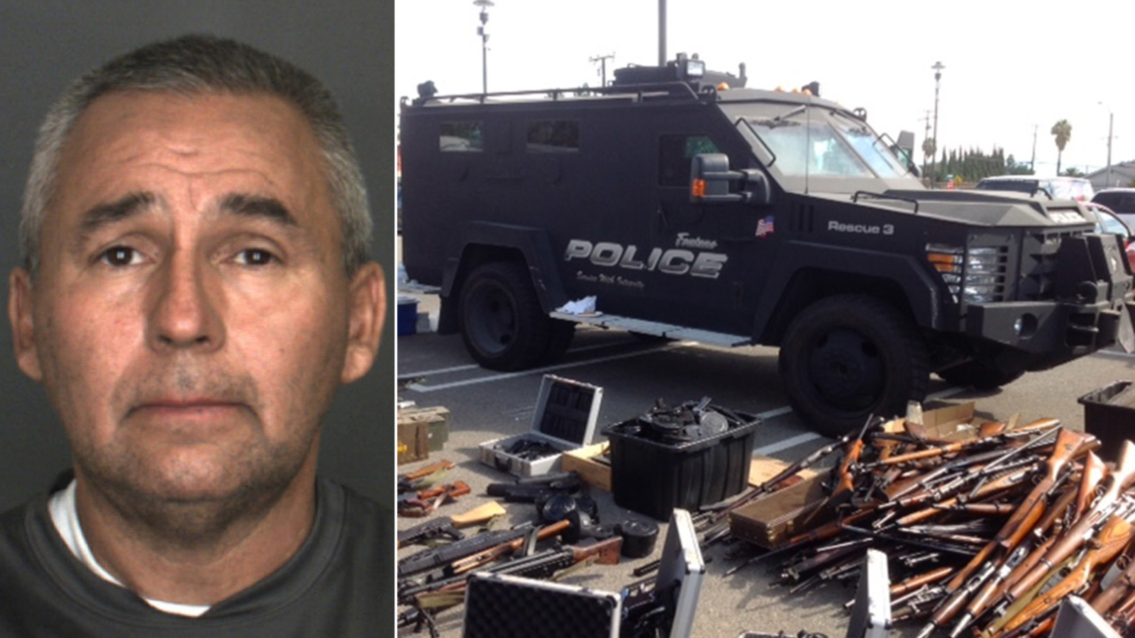More Than 300 Illegal Firearms Found In Fontana Storage