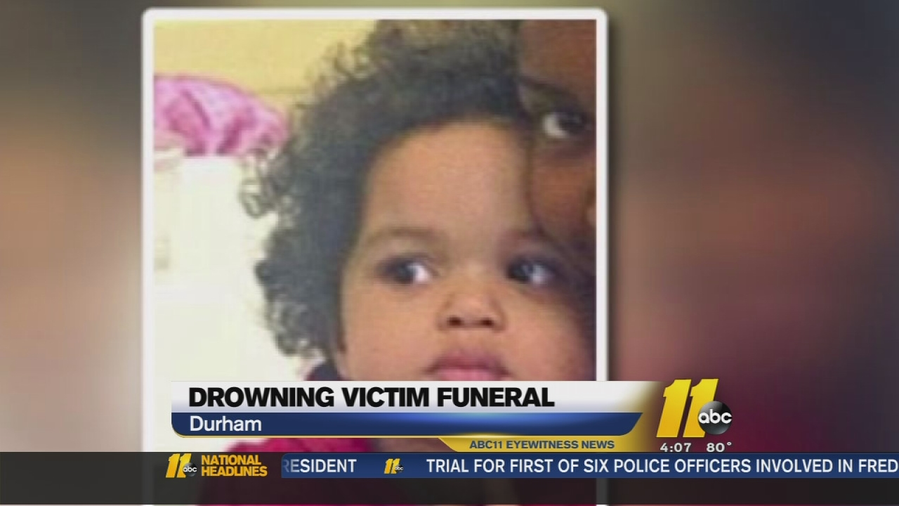 Funeral Held For 3 Year Old Girl Drowned By Her Father Abc11 Com