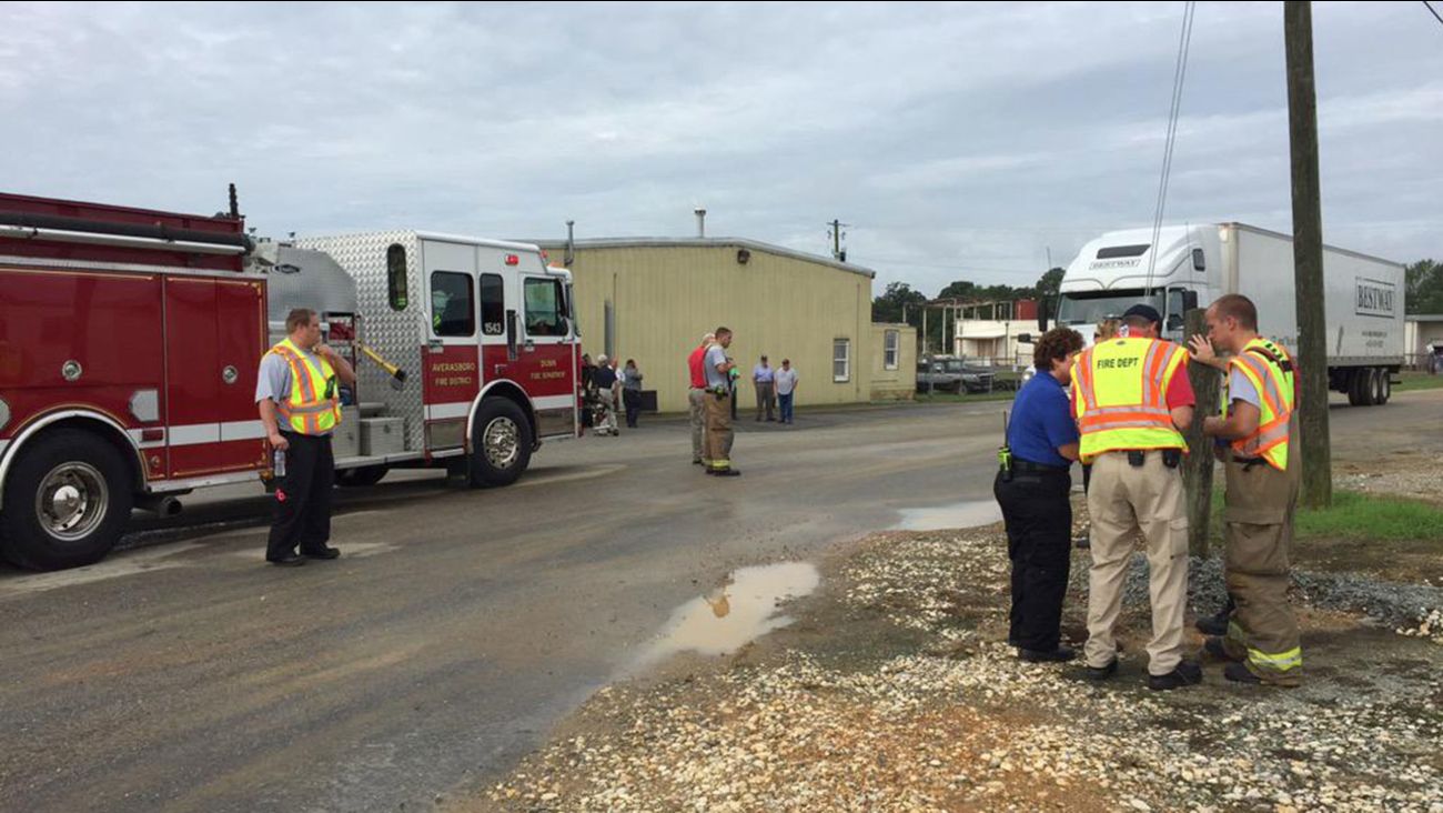 First responders were called to the Brainerd Chemical in Dunn Wednesday morning after a vapor leak was reported.