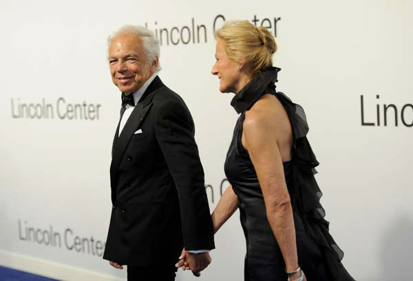 "<div class=""meta image-caption""><div class=""origin-logo origin-image none""><span>none</span></div><span class=""caption-text"">Fashion designer Ralph Lauren, left, and wife Ricky Lauren attend 'Lincoln Center Presents: An Evening With Ralph Lauren' on Oct. 24, 2011 in New York. (AP Photo/ Evan Agostini)</span></div>"