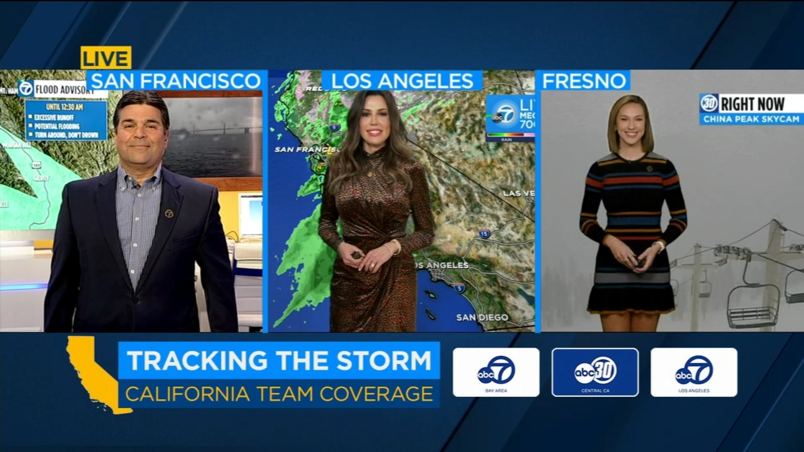 San Francisco Bay Area AccuWeather forecast: Storm continues today, drier beginning tomorrow