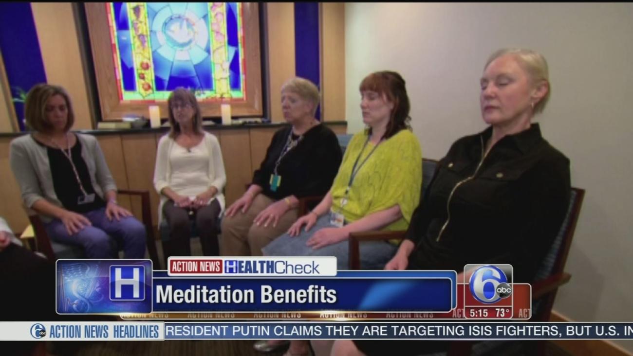 VIDEO: HK meditation benefits