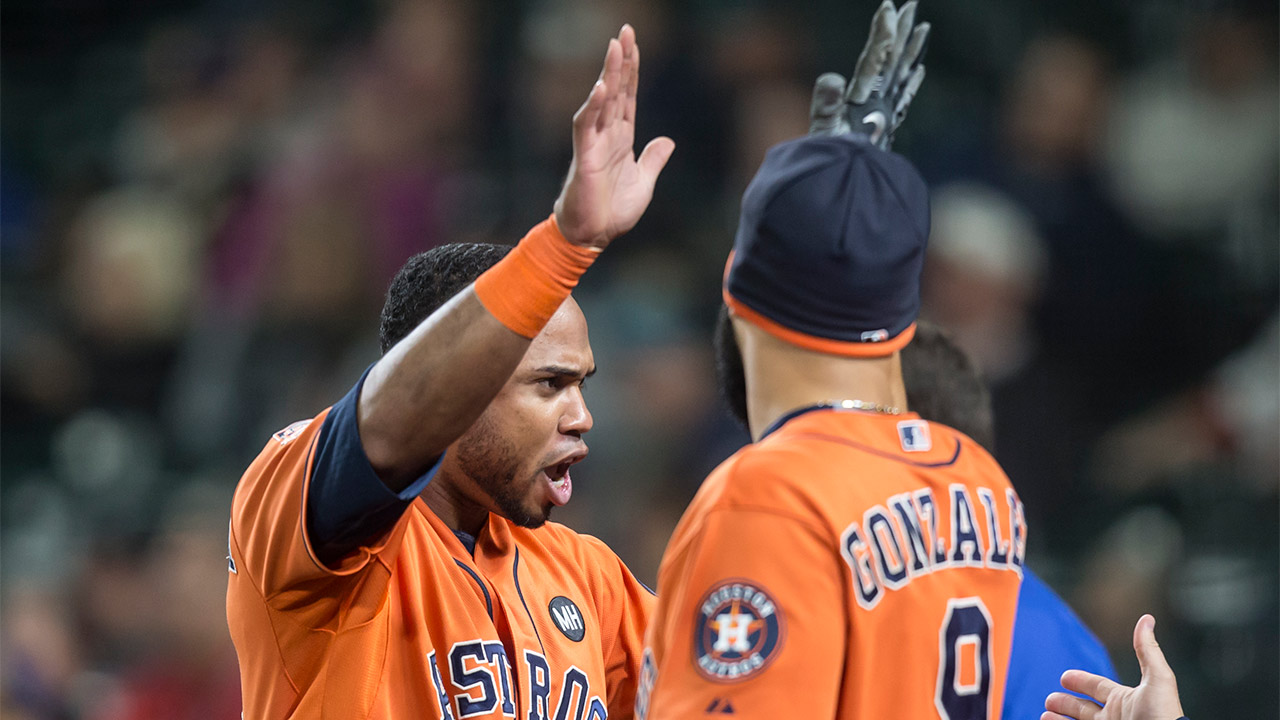 Houston Astros' Luis Valbuena