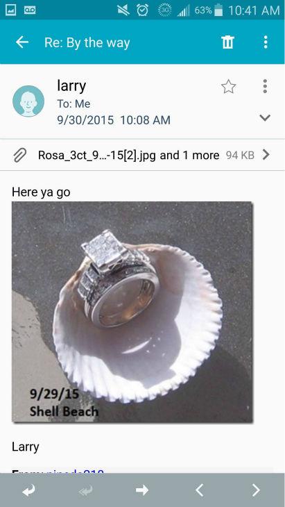 """<div class=""""meta image-caption""""><div class=""""origin-logo origin-image none""""><span>none</span></div><span class=""""caption-text"""">The ring (Photo/Rosa Pineda)</span></div>"""