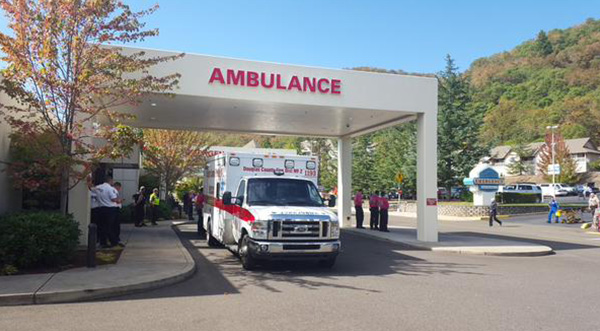 "<div class=""meta image-caption""><div class=""origin-logo origin-image none""><span>none</span></div><span class=""caption-text"">Mercy Medical Center in Roseburg, Ore. where some patients from the shooting are being treated. (@Bob_Schaper/KEZI)</span></div>"
