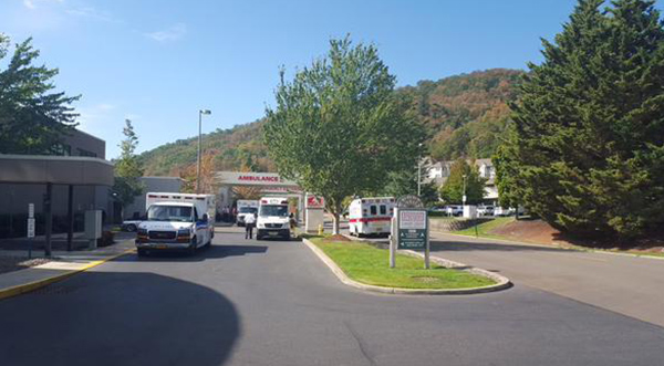 "<div class=""meta image-caption""><div class=""origin-logo origin-image none""><span>none</span></div><span class=""caption-text"">Ambulances staged at Mercy Medical in Roseburg. (@Bob_Schaper/KEZI)</span></div>"