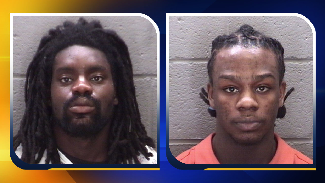 Sylvester Andrews, Jr. (left) and Trayvon Moody-Powell (right)