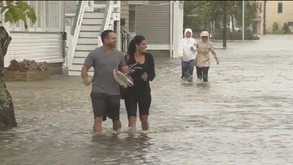 Storm brings beach erosion, flooding at Jersey Shore | 6abc com