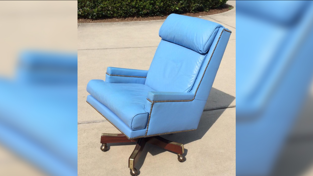 Dean Smith's chair sold at auction