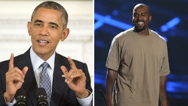President Obama will visit San Francisco this week and share the stage with Kanye West.