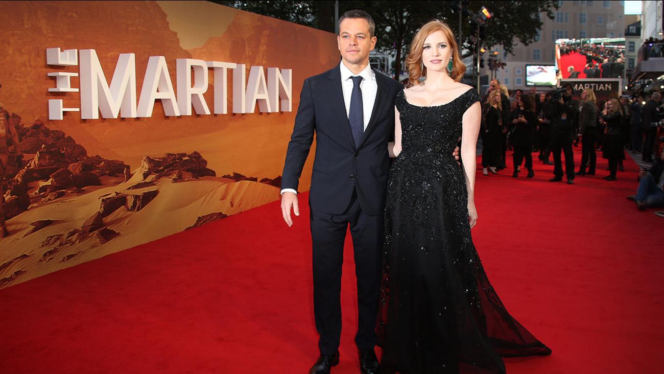 'The Martian' premiere