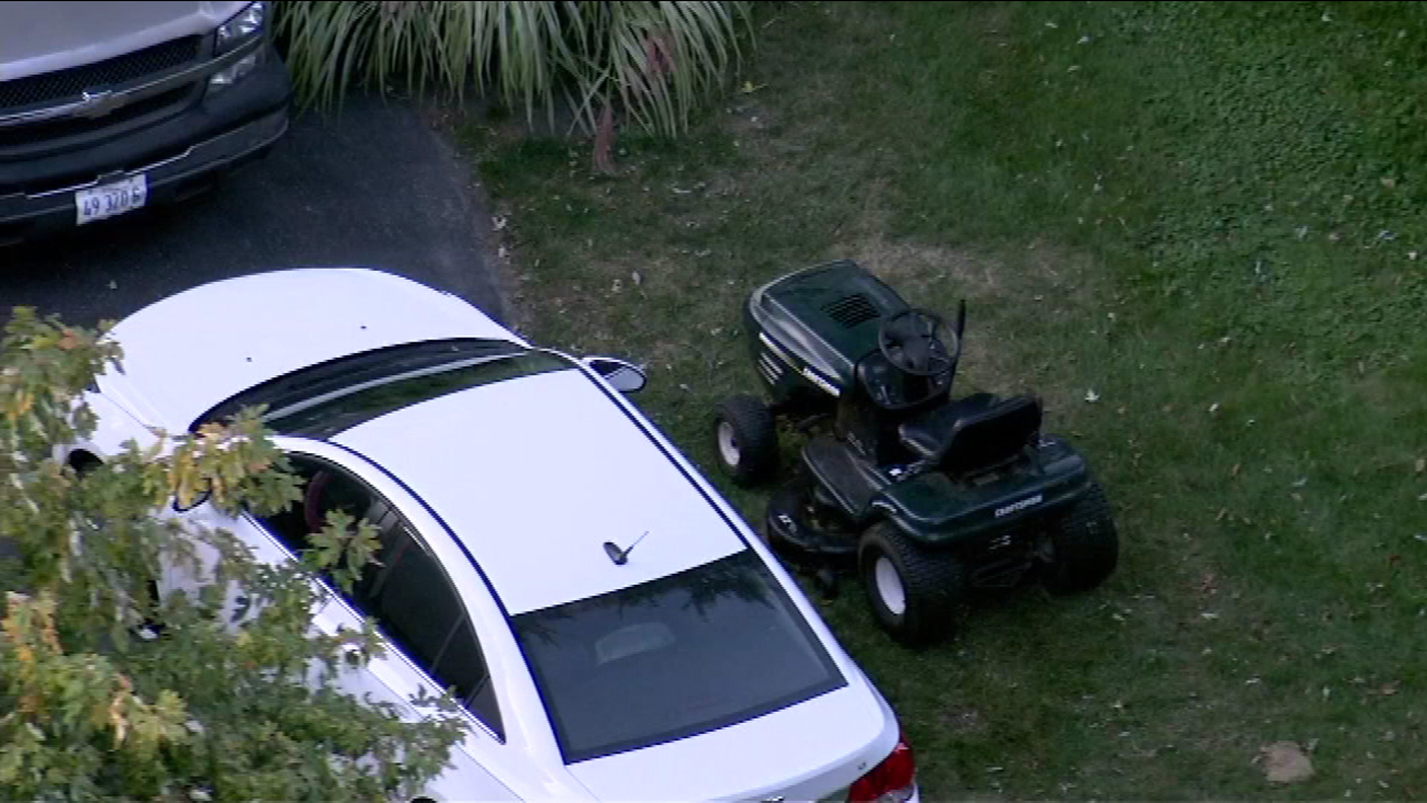 lawnmower accident plainfield