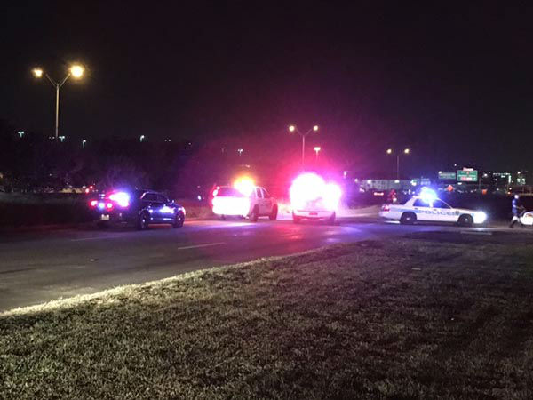 "<div class=""meta image-caption""><div class=""origin-logo origin-image none""><span>none</span></div><span class=""caption-text"">Police found one person dead from gunshot wounds after a car crashed along the West Sam Houston Tollway near Town Park Drive. (KTRK Photo)</span></div>"