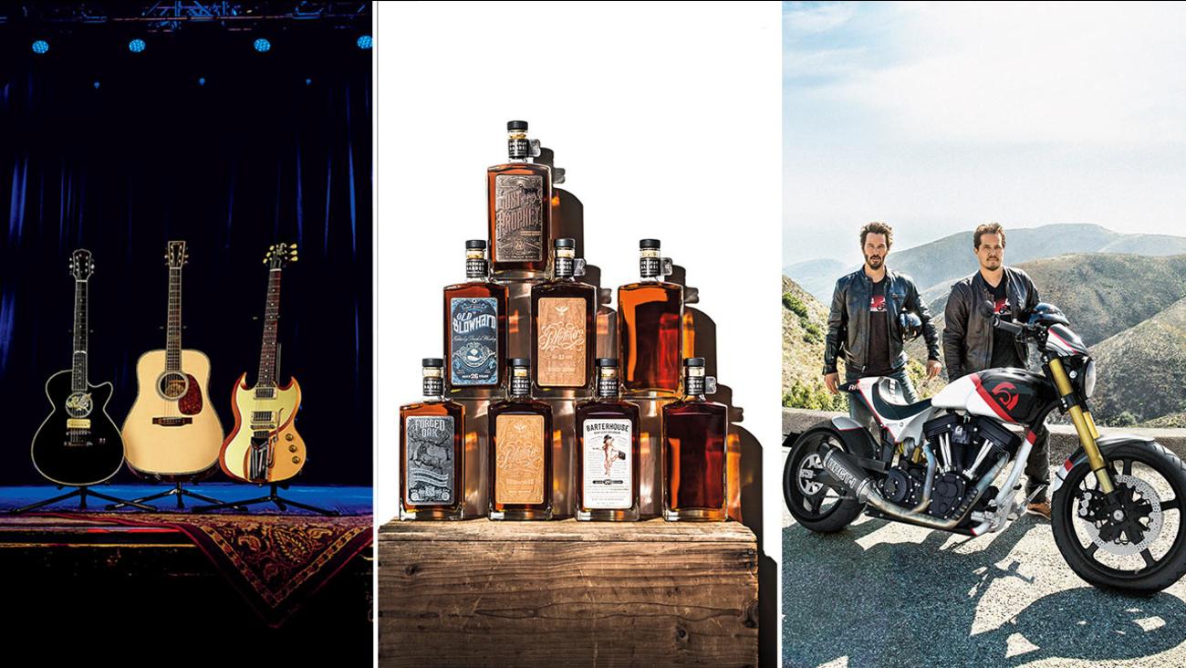 Custom guitars and motorcycles among Neiman Marcus fantasy Christmas ...