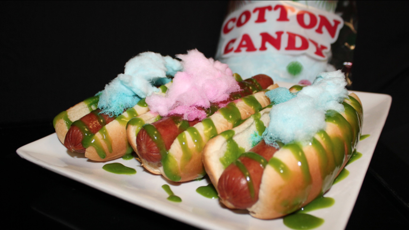 Sweet Spot Cotton Candy Dog