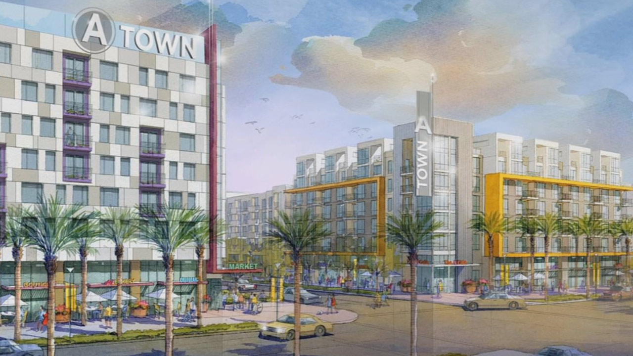 A Town, a residential and commercial project, was approved by the Anaheim City Council on Tuesday, Oct. 6, 2015.