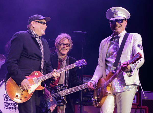 "<div class=""meta image-caption""><div class=""origin-logo origin-image none""><span>none</span></div><span class=""caption-text"">Rick Nielsen, Tom Petersson and Robin Zander of the classic rock band Cheap Trick perform during the MMR B Q radio station concert  on Saturday, May 18, 2013. (AP Photo/ Owen Sweeney)</span></div>"