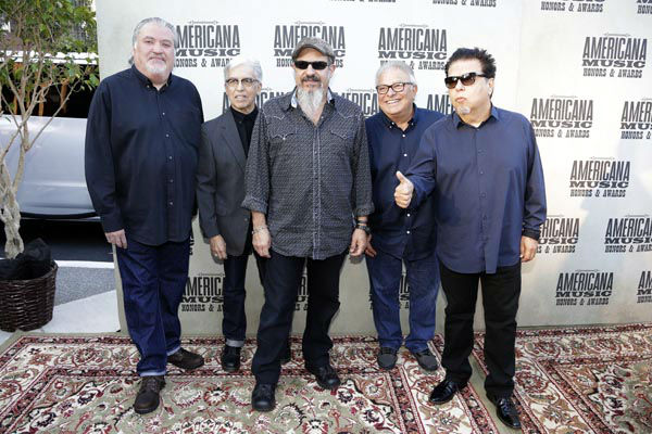 "<div class=""meta image-caption""><div class=""origin-logo origin-image none""><span>none</span></div><span class=""caption-text"">FILE - In this Sept. 16, 2015, file photo, the group Los Lobos arrive at the Americana Music Honors and Awards show in Nashville, Tenn. (AP Photo/ Mark Zaleski)</span></div>"