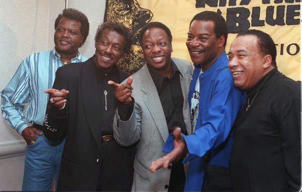 "<div class=""meta image-caption""><div class=""origin-logo origin-image none""><span>none</span></div><span class=""caption-text"">The Spinners from left John Edwards, Bobby Smith, Henry Fambrough, Pervis Jackson and Billy Henderson pose for photographers in this Feb. 27, 1997 photo. (AP Photo/ MARTY LEDERHANDLER)</span></div>"