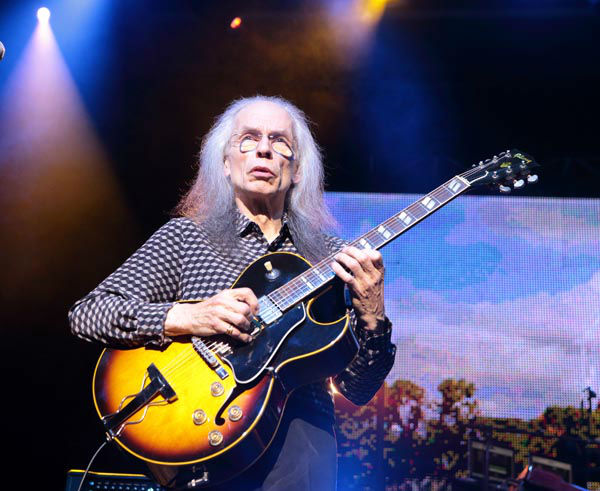 "<div class=""meta image-caption""><div class=""origin-logo origin-image none""><span>none</span></div><span class=""caption-text"">Guitarist Steve Howe of the band Yes performs in concert at Pier Six Pavilion on Wednesday, Aug. 12, 2015, in Baltimore. (AP Photo/ Owen Sweeney)</span></div>"
