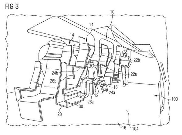 "<div class=""meta image-caption""><div class=""origin-logo origin-image none""><span>none</span></div><span class=""caption-text"">A patent filed by European aircraft manufacturer Airbus would essentially stack passengers on top of each other. (Airbus / US Patent Office)</span></div>"