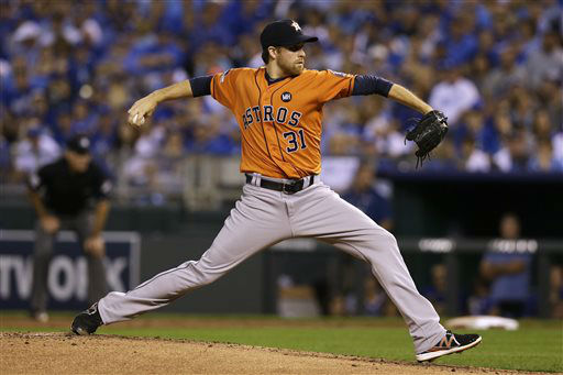"<div class=""meta image-caption""><div class=""origin-logo origin-image none""><span>none</span></div><span class=""caption-text"">Houston Astros starting pitcher Collin McHugh throws during the first inning in Game 1 (AP Photo/ Orlin Wagner)</span></div>"