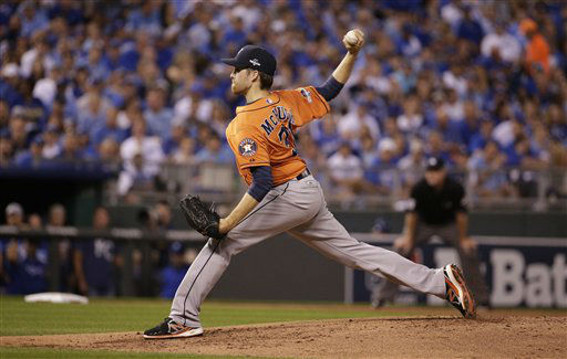 "<div class=""meta image-caption""><div class=""origin-logo origin-image none""><span>none</span></div><span class=""caption-text"">Houston Astros starting pitcher Collin McHugh throws a pitch during the first inning (AP Photo/ Charlie Riedel)</span></div>"