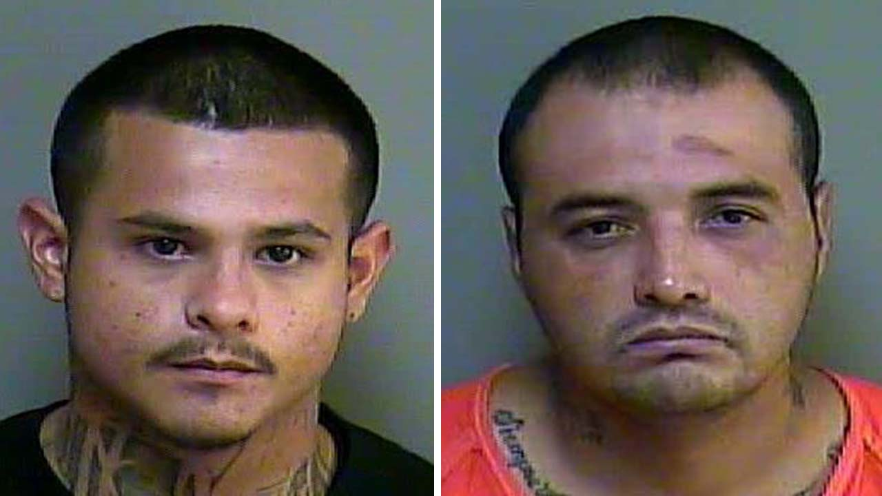 "Felix Lee Perez, left, and Presciliano ""Pres"" Martinez were arrested in this case"