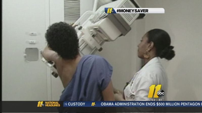 Free mammograms this month
