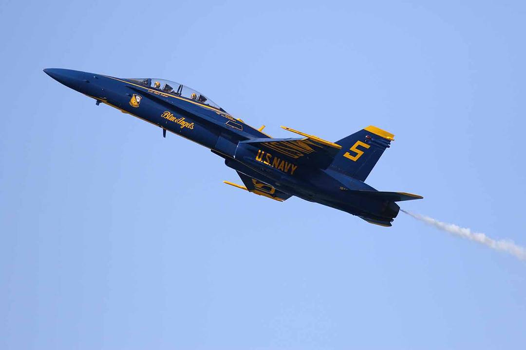 <div class='meta'><div class='origin-logo' data-origin='none'></div><span class='caption-text' data-credit='Photo submitted to KGO-TV by untouchedtcphotos/Instagram'>The Fleet Week air show featuring the Navy's Blue Angels and other military aircrafts took flight over the San Francisco Bay on Saturday, October 10, 2015.</span></div>
