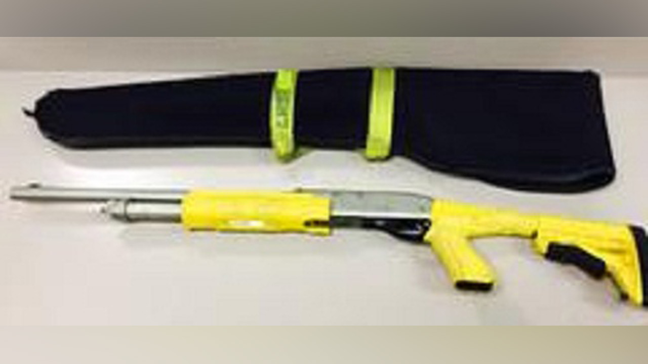 A stun-bag shotgun reported missing by the Los Angeles County Sheriff's Department was recovered on Saturday, Oct. 10, 2015.