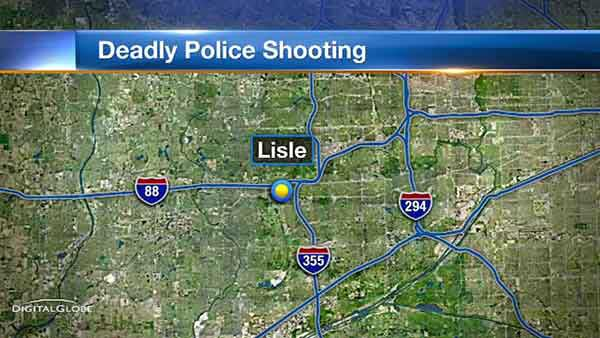 A 35-year-old man shot and killed by police, who allegedly tried to break into a home in west suburban Lisle, was identified over the weekend.