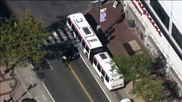 SEPTA bus involved in Center City crash; 4 injured