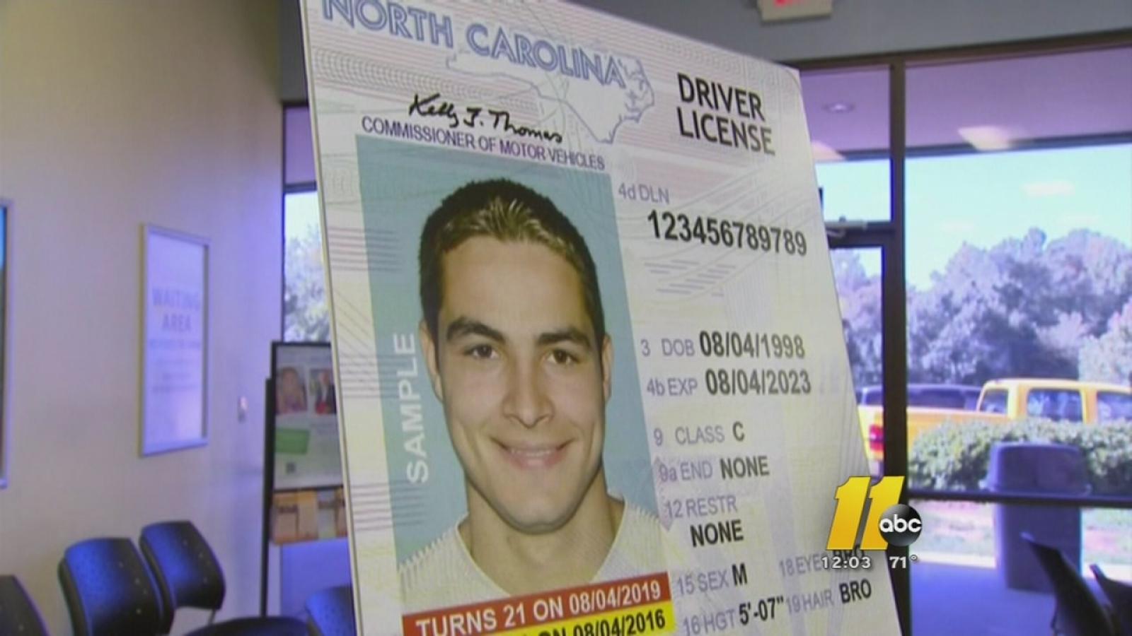 drivers license renewal wake county nc