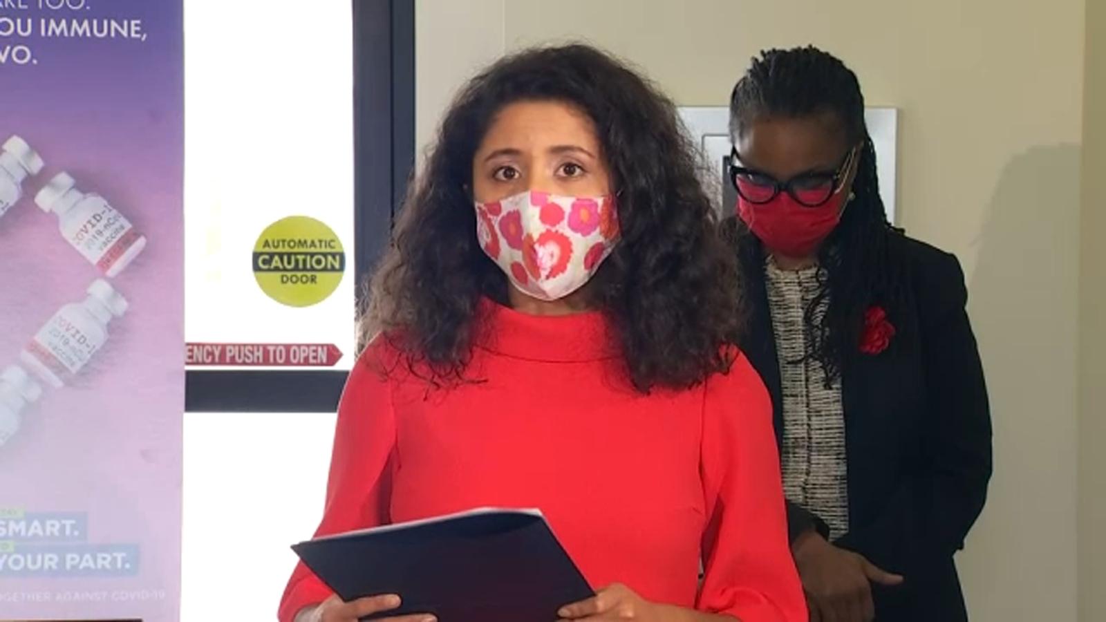 Harris Co. Judge Lina Hidalgo announces new 'Stay Smart, Do Your Part' vaccine campaign - KTRK-TV