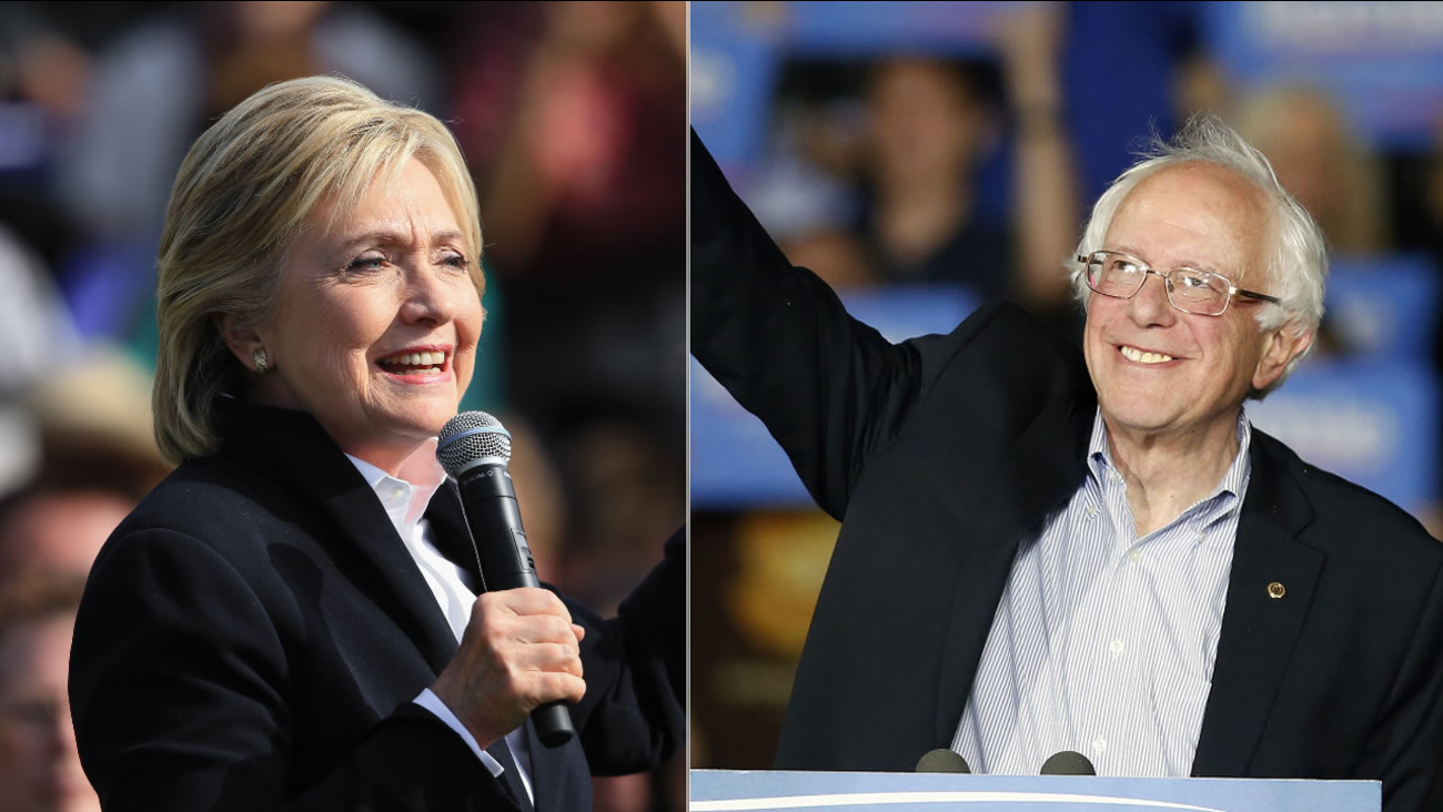 Democratic presidential candidates Hillary Clinton and Bernie Sanders will be participating in the 2015 Democratic Presidential Debate on Tuesday, October 13, 2015.